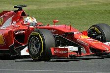 Formel 1 - Vettel glücklich über Rang drei