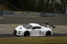 Mehr Sportwagen - Audi vor Rennpremiere des R8 LMS