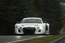 Mehr Sportwagen - Audi testet R8 LMS auf der Nordschleife