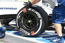 Formel 1 - Pirelli plant mehr Reifenmischungen für 2017