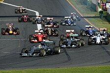 Formel 1 - Australien GP: Hamilton siegt, Vettel auf Podium