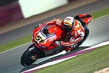 MotoGP - Ducati zu dritt: Wildcard für Pirro