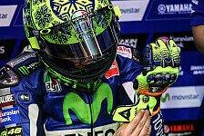 MotoGP - Rossis Hinterreifen nach fünf Runden kaputt
