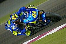 MotoGP - Suzuki-Duo lässt sich von Problemen nicht stoppen