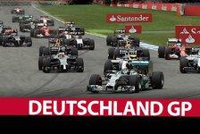Formel 1 - Nicht einmal Mercedes konnte Deutschland-GP retten