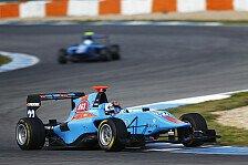 GP3 - Estoril, Testtag 2: Boschung fährt Bestzeit