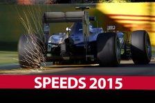 Formel 1 - So schnell ist die Formel 1 2015