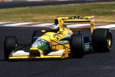 Formel 1 - Jubiläum: Schumachers erster Podestplatz