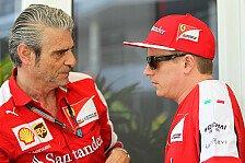 Formel 1 - Ferrari: (Nichts) neues zur Räikkönen-Zukunft