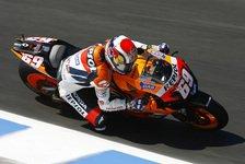 MotoGP - 1. Training: Bestzeit für Hayden