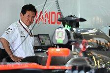 Formel 1 - Honda-Chef: Traum vom Podium 2015 lebt!