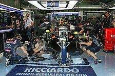 Formel 1 - Regeländerung: 5 statt 4 Power Units