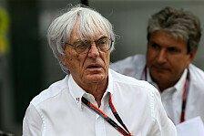 Formel 1 - Ecclestone will V8-Motoren mit 1.000 PS