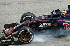 Formel 1 - Sainz: Singapur war Beweis für Toro-Rosso-Chassis