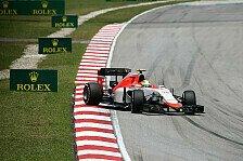Formel 1 - Bootet Manor Merhi schon in China aus?