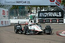 IndyCar - Power holt in St. Petersburg erste Pole des Jahres