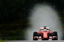 Formel 1 - Ferrari: Vettel fantastico vs. Pechvogel Räikkönen