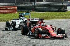 Formel 1 - Malaysia GP: Erster Ferrari-Sieg für Vettel