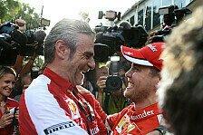 Formel 1 - Das Ziel fest vor Augen: Drei Siege für Ferrari