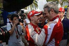 Formel 1 - Schumacher brachte Arrivabene zum Weinen