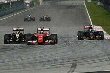 Formel 1 - Flotte Ferrari? Die Top-Speeds beim Malaysia GP