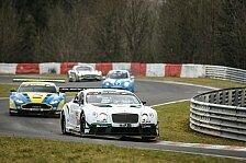 VLN - Bentley Team HTP steht auf der Pole