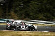 24 h Nürburgring - Training: Bestzeit für Schubert