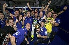 MotoGP - Bilder: Katar GP - Sonntag - Rossi feiert
