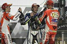 MotoGP - Totaler Triumph der Italiener
