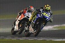 MotoGP - Rossi feiert sensationellen Sieg in Katar