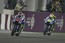 MotoGP - Lorenzo und Rossi führen 1. Katar-Training an