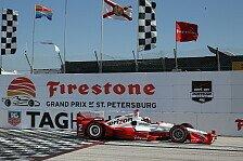 IndyCar - Montoya gewinnt in St. Petersburg