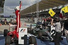 Formel 1 - Vettel-Sieg ein Volltreffer für TV-Sender