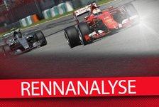 Formel 1 - Analyse: So besiegten Vettel und Ferrari Mercedes
