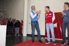 Formel 1 - Vettel: 'Forza Ferrari'-Funkspruch war für Michael