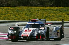 WEC - 1. Training: Audi und Porsche Kopf an Kopf