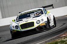 Blancpain GT Serien - Bentley in Monza: Drei Stunden Highspeed