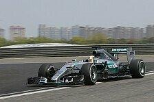 Formel 1 - Live-Ticker: Der Freitag in Shanghai