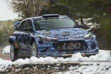 WRC - Hyundai: Debüt des neuen i20 erst 2016