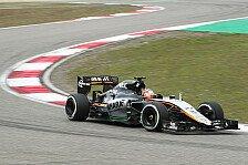 Formel 1 - Force India im hinteren Mittelfeld gefangen