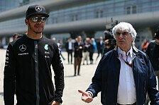 Formel 1, Ecclestone über Hamilton: Der hat die Schnauze voll