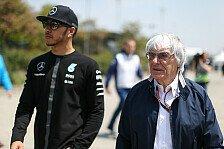 Formel 1 - Ecclestone: Hamilton wird wieder Weltmeister