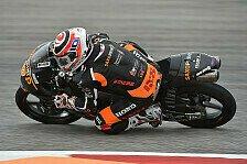 Moto3 - Warm-Up Austin: Antonelli dominiert