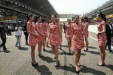 Formel 1 - Bilder: China GP - Girls