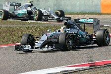 Formel 1 - Hamilton siegt kontrolliert beim China GP