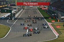 Formel 1 - Team für Team - China GP: Vorschau
