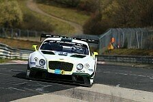 24 h Nürburgring - Bentley Team HTP vor Herausforderung