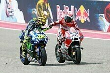 MotoGP - Rossi: WM-Führung verteidigt, alles gut!