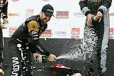 IndyCar - Hinchcliffe gewinnt Louisiana-Premiere