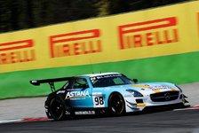Blancpain GT Serien - Indy Dontje: Mit dem Flügeltürer in die Top-10